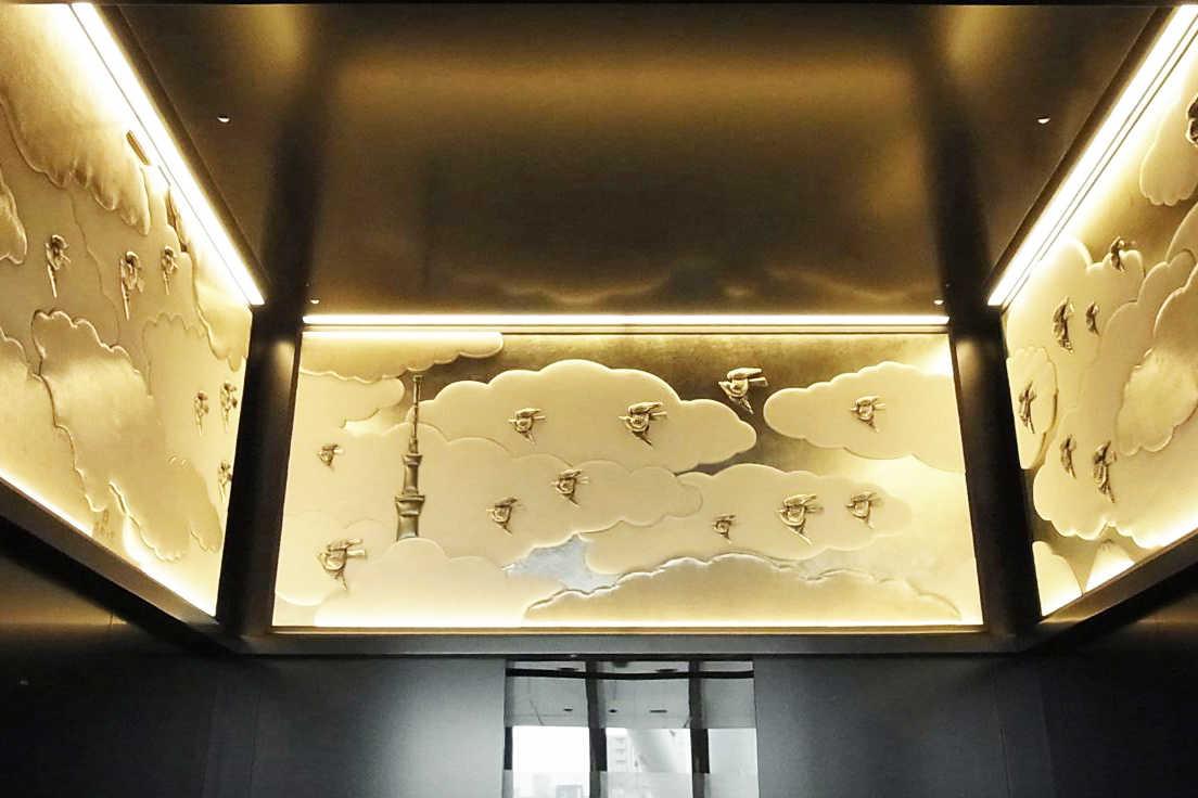 東京スカイツリーに4基ある東芝エレベータ株式会社製のエレベーター