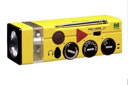 多機能ラジオライト