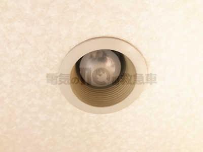 天井のダウンライト