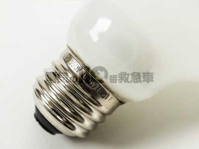 100V 90Wの電球型蛍光灯の口金