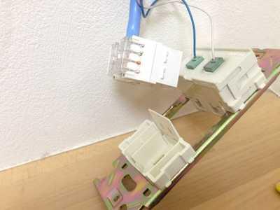 LANコンセントの交換