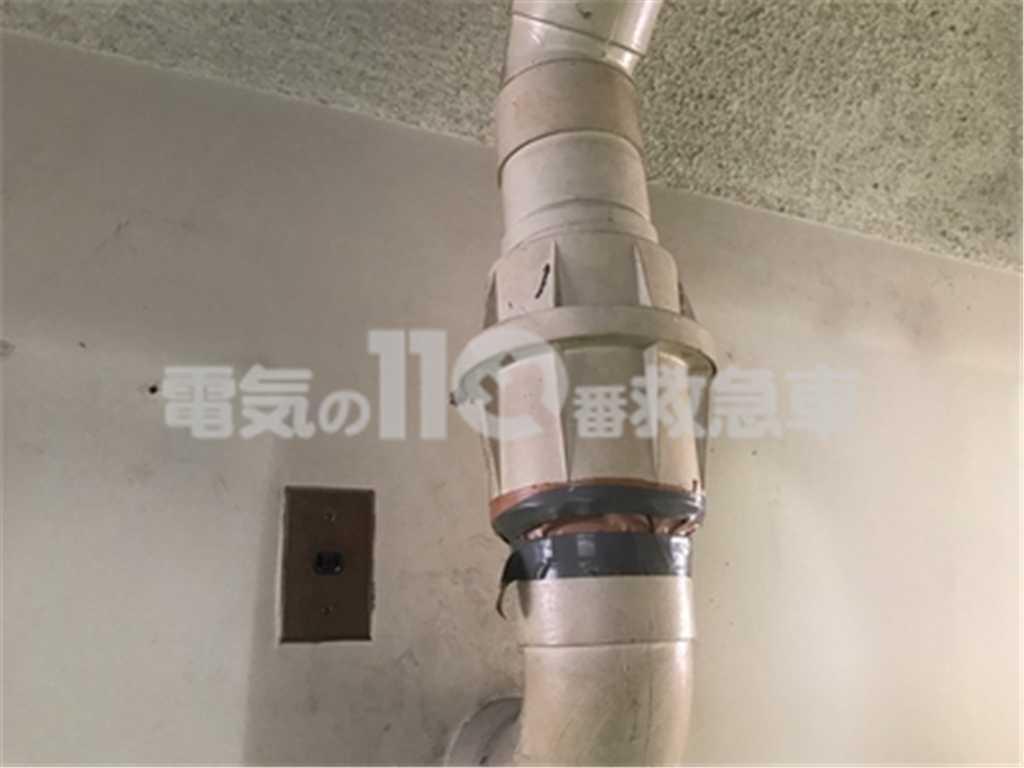 一般的なダクト換気扇