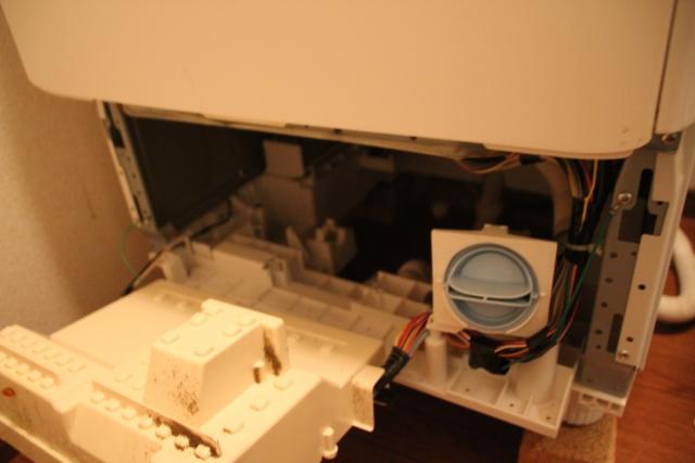 洗濯機の内部 イメージ画像
